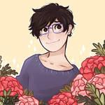 (Flowers) Yuuri Katsuki