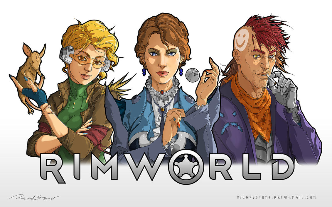 RimWorld Storytellers by RicardoTomeArt