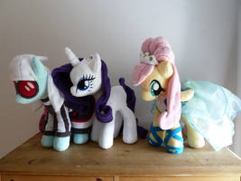 Fashion Ponies Plush WIP by Wild-Hearts