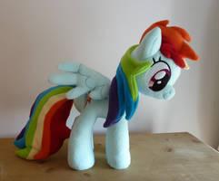 Rainbow Dash Plush V2 by Wild-Hearts