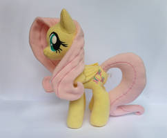 Fluttershy Plush V3 by Wild-Hearts