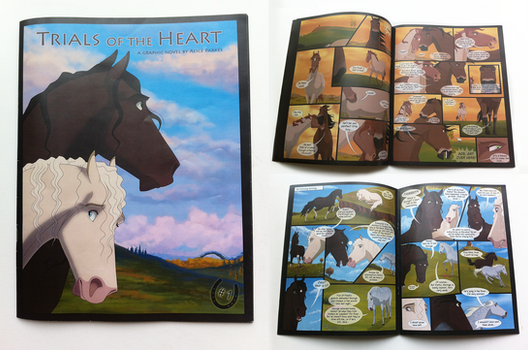 Trials of the Heart - First Issue Proof Print