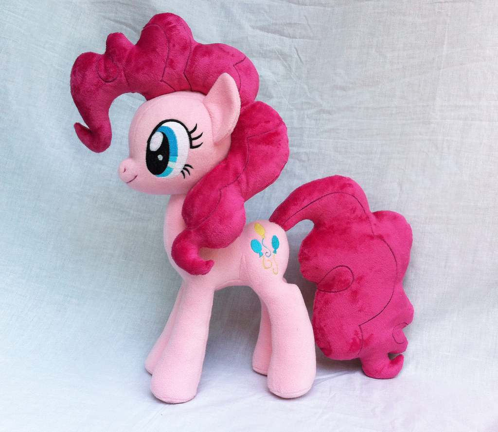 Pinkie Pie Plush V2 by Wild-Hearts