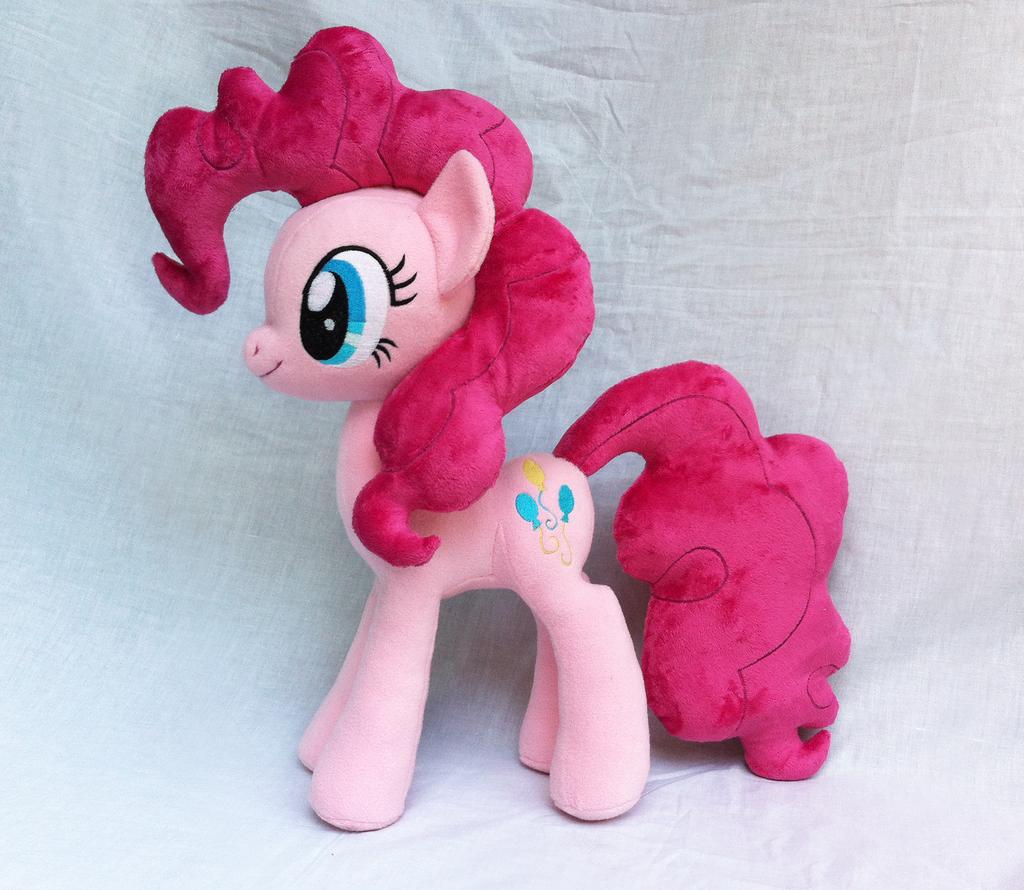 Pinkie Pie Plush V2 by Wild-Hearts