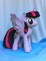 Princess Twilight Sparkle Plush by Wild-Hearts