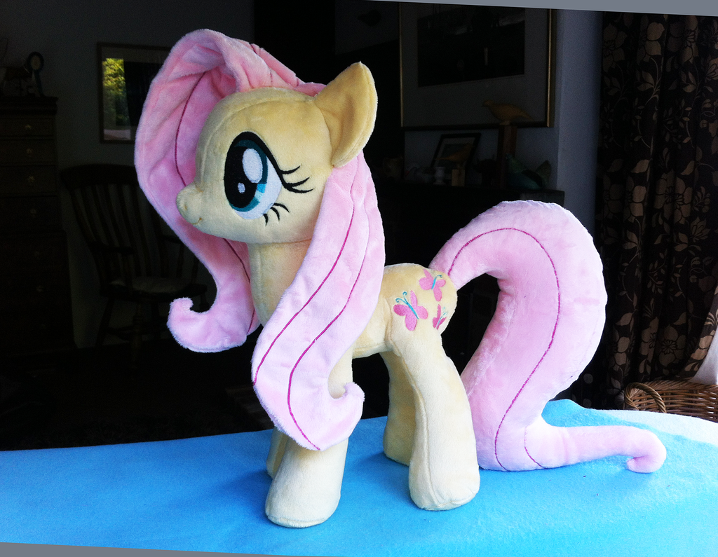 Fluttershy Plush V6 by Wild-Hearts