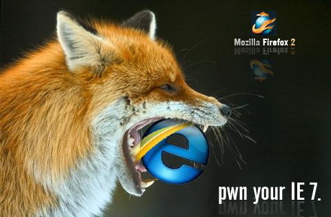 firefox pwnz by fOXBLASTER
