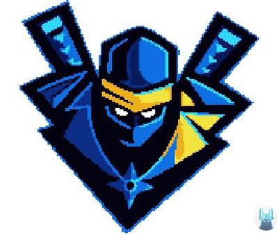 Fortnite Pixel Art Ninja Logo By Realsleepyknight On Deviantart