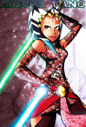 Ahsoka Tano s3: colored by SOFA-KING-AWESOME
