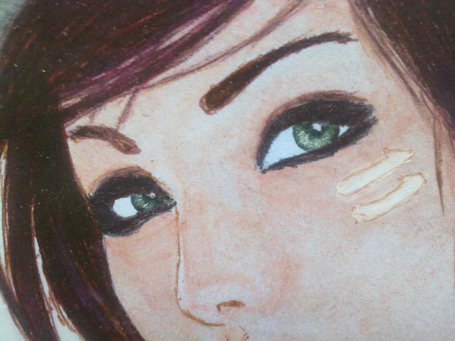 La chica de la camara closeup by rub-99
