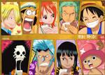 One Piece StrawHat Crew