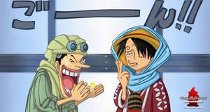 Sanjified Luffy