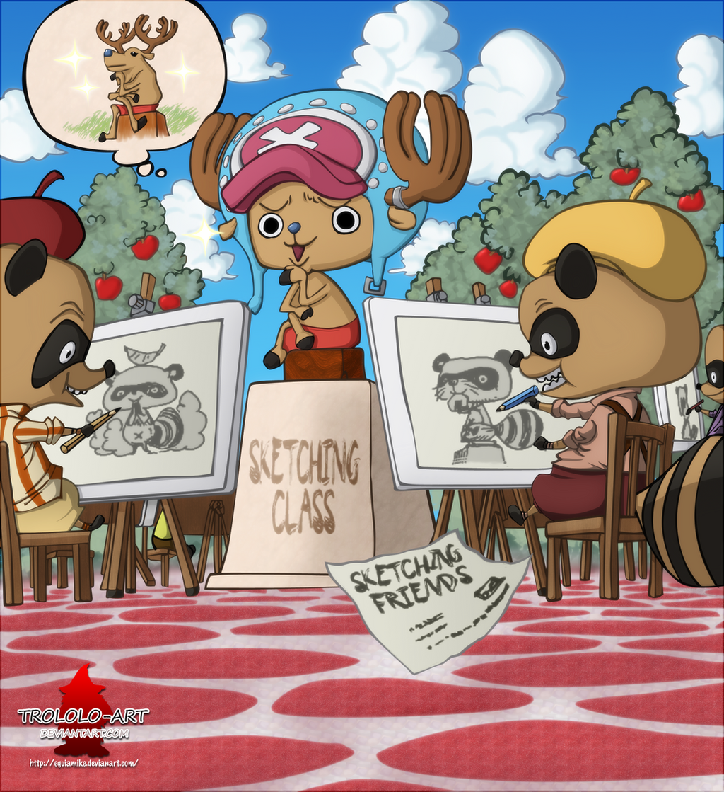 One Piece 605 Cover-Chopper by Eguiamike