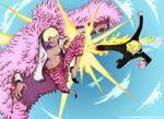 One Piece 723  Sanji Vs Doflamingo Request By