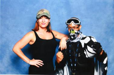 Karlee Perez And Mr Grimez Poet Warrior! by MrGrimez