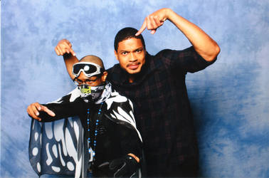 Ray Fisher And Mr Grimez Poet Warrior! by MrGrimez