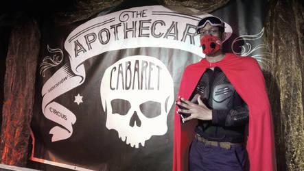 Mr Grimez Poet Warrior At The Apothecary Cabaret by MrGrimez