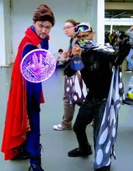 Dr Strange And Mr Grimez Poet Warrior by MrGrimez