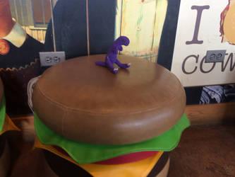 On a Cheeseburger by Huqstuff