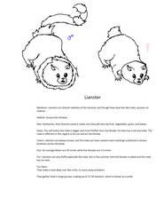 Lianster sketch by Huqstuff