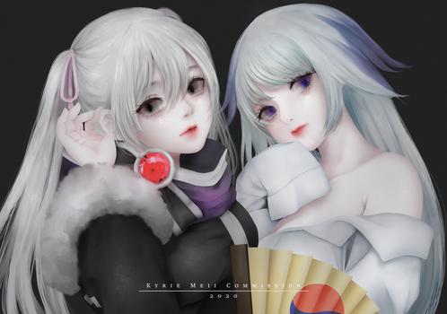 [CM] Psyche and Ahato