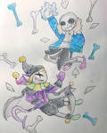 Jevil Vs. Sans