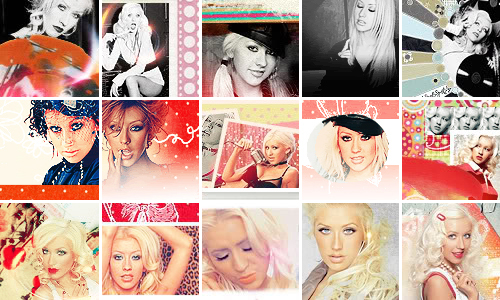 Christina Aguilera icons 2 by Missesglass