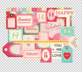 Twitter Exclusive 8 - Valentine PNGs