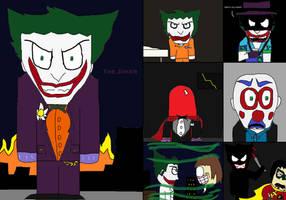 GCPD Rogue Files: The Joker by GodzillaFan1234
