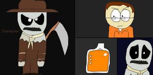 GCPD Rogue Files: Scarecrow by GodzillaFan1234