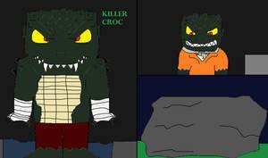 GCPD Rogue Files: Killer Croc by GodzillaFan1234