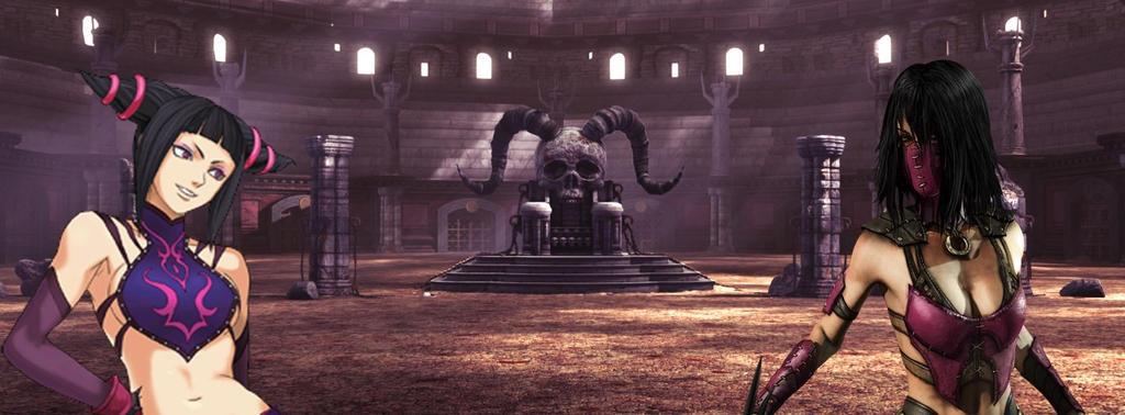 Juri vs. Mileena by GodzillaFan1234
