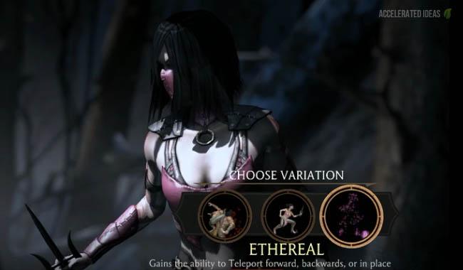 Mileena Ethereal 1 by GodzillaFan1234