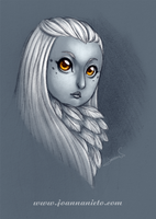 Owl Girl by kalmita