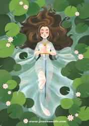 Lady of the Lake by kalmita