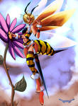 In-fey-sion of the Bee Girls
