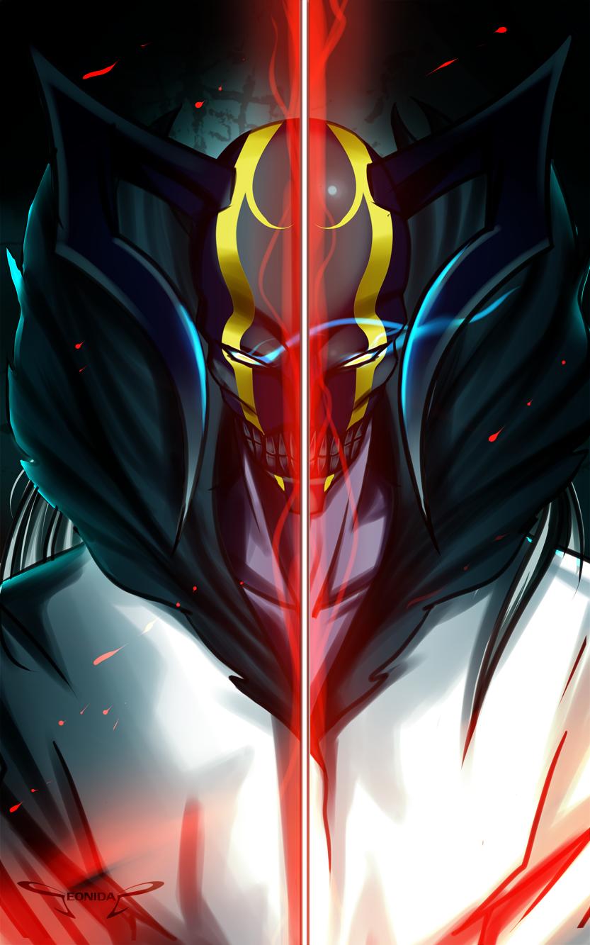 Bleach Vasto lorde Second form by Seonidas on DeviantArt