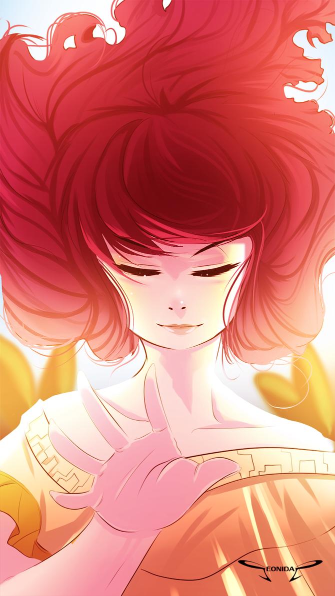 Aurora the child of light by Seonidas