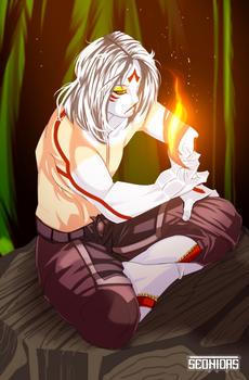Shiro White Flame