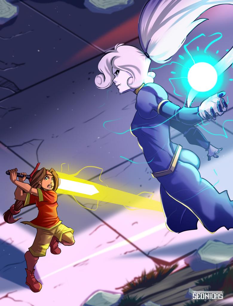 Wasko Sword of light by Seonidas