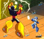 Megaman vs Elecman
