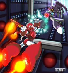 Mega man vs Bass