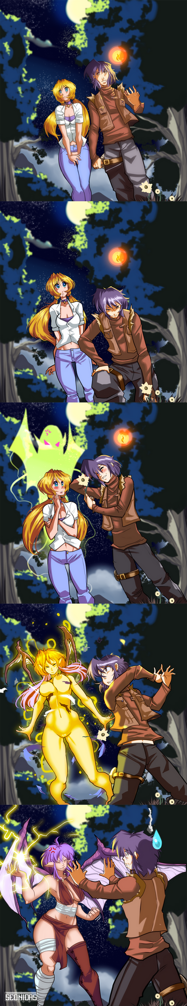 Avery and Reist moment by Seonidas