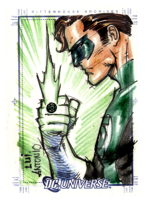 Green Lantern by stompboxxx