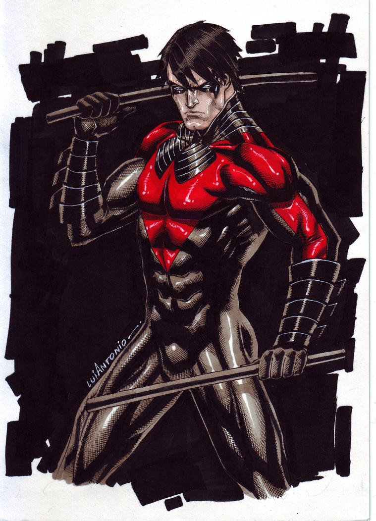 NightWing New52 By Stompboxxx