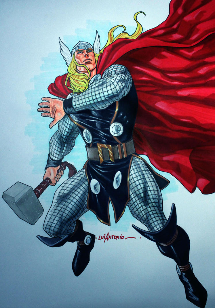 Thor by stompboxxx
