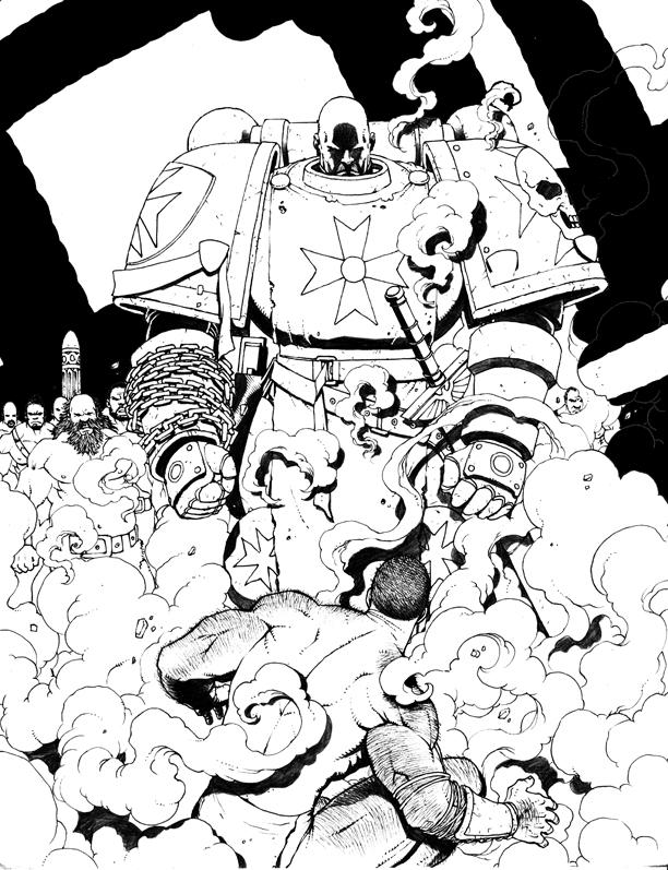 Warhammer - Brunner by stompboxxx
