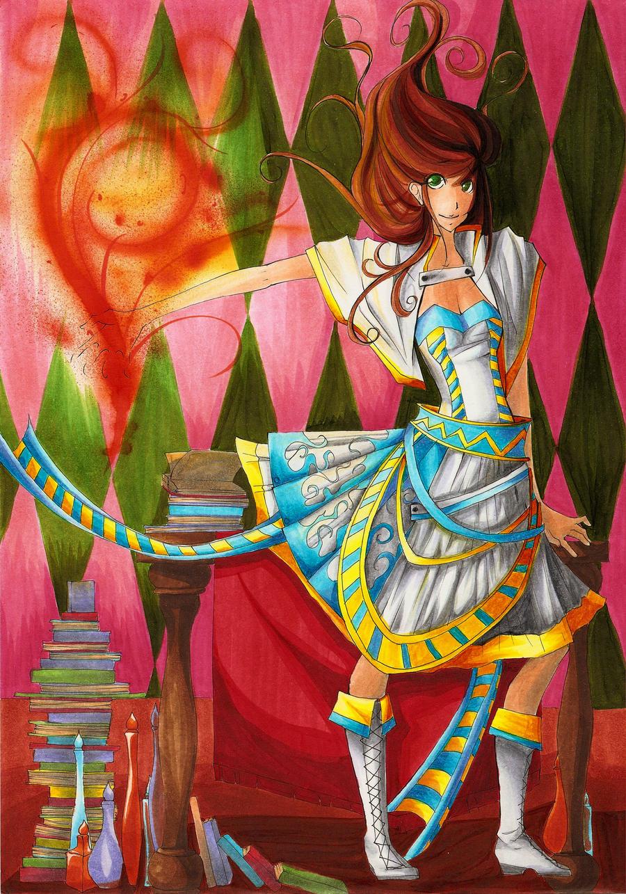 Beautiful Magic by mangaka101
