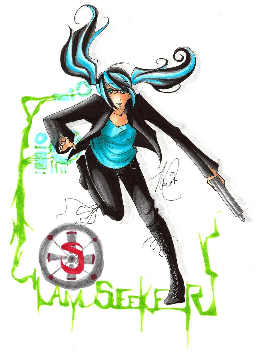 Seeker Sarah Day by mangaka101