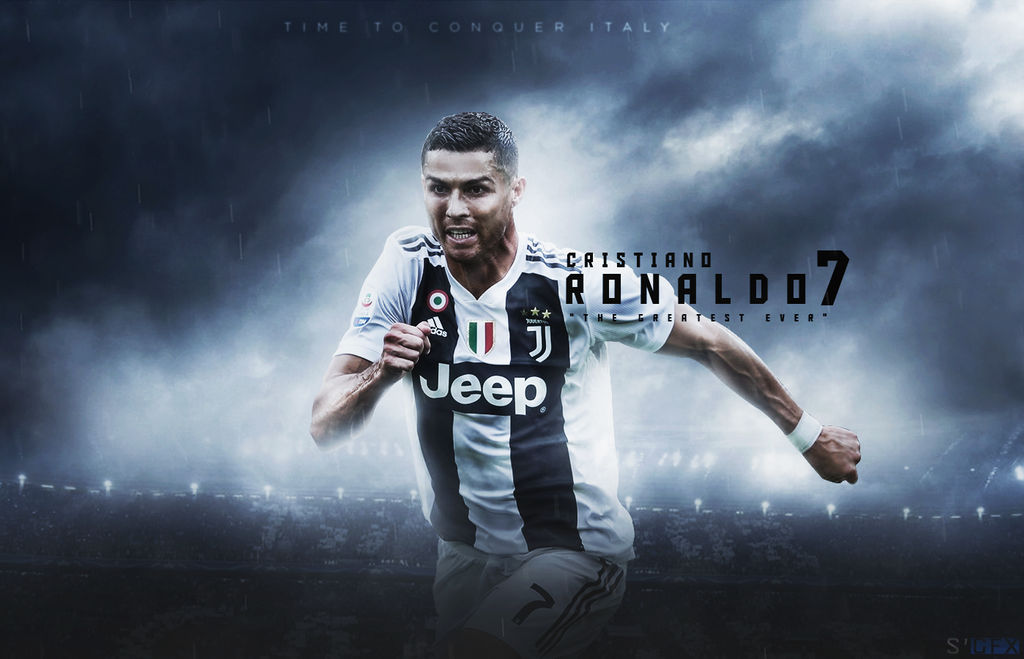 Cristiano Ronaldo Wallpaper Juventus By Salmanali10 On Deviantart